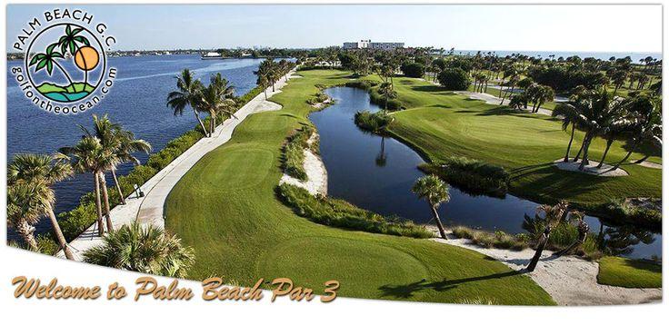 Par Three Golf course on the Ocean