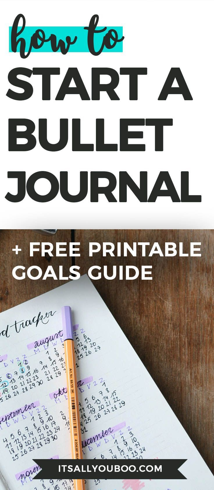 Want to know how to start a bullet journal? Need inspiration for your bullet journal layout and setup? Click here for your beginner's guide to bullet journaling, with ideas for pages, pens, journals and more. #bulletjournal