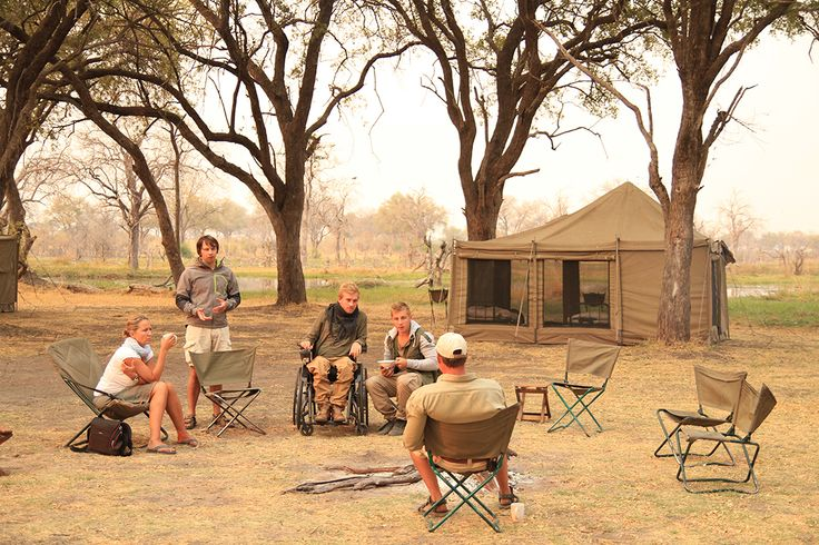 Esteetön safari Botswana