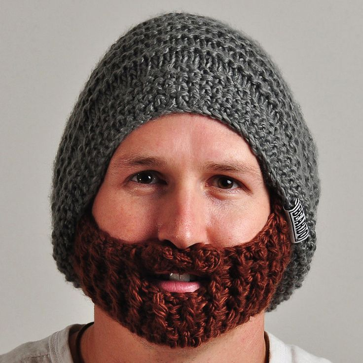 Like a boss! Official Beardo - Original Gray with Brown beard