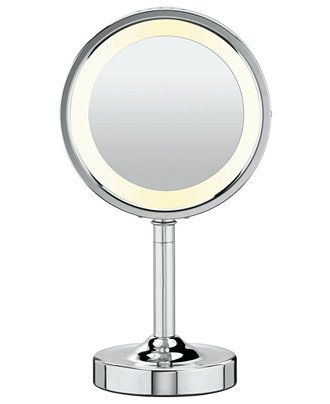 Conair, 5x Magnified Lighted Makeup Mirror - Bathroom ...