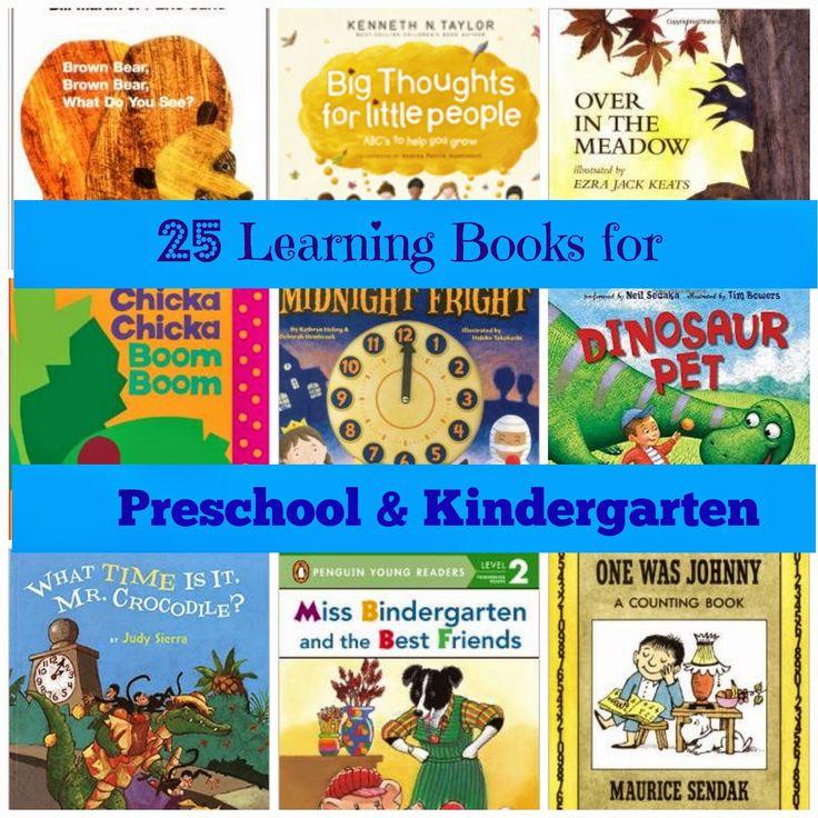 Raising Samuels Homeschool: 25 Learning Books for Preschool to Kindergarten