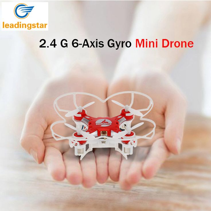 Mini Drone 4 Warna Saku Kecil FQ777-124 2.4G 6-Axis Gyro 4CH Drone Headless Satu Kunci Kembali RC Quadcopter RTF LeadingStar