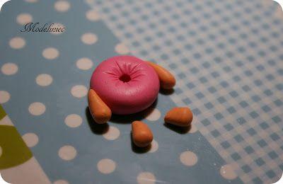 How to make donut with polymer clay?/Jak zrobić pączka z modeliny?
