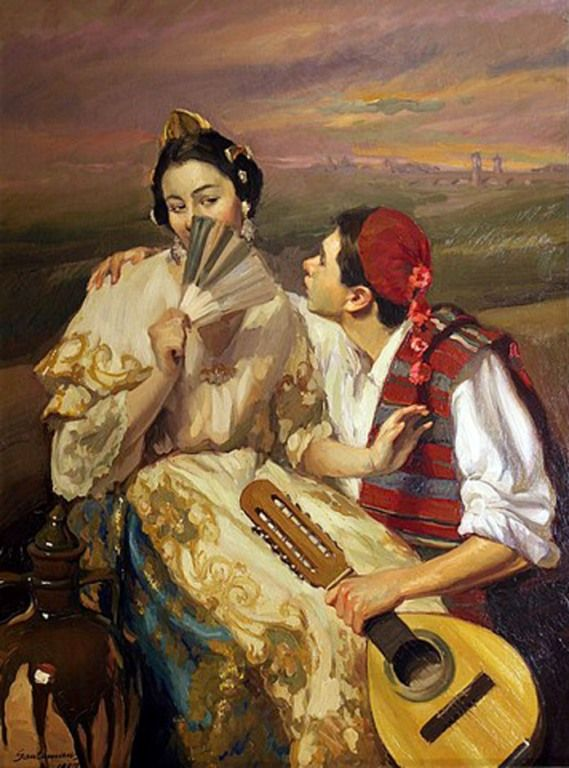 2391 best images on pinterest painting - Pintor valenciano ...