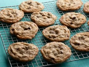 Best choc chip cookie recipe ever, says Alanna. And it's GF! Alton Brown is the man!!!