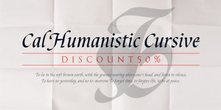Cal Humanistic Cursive font download