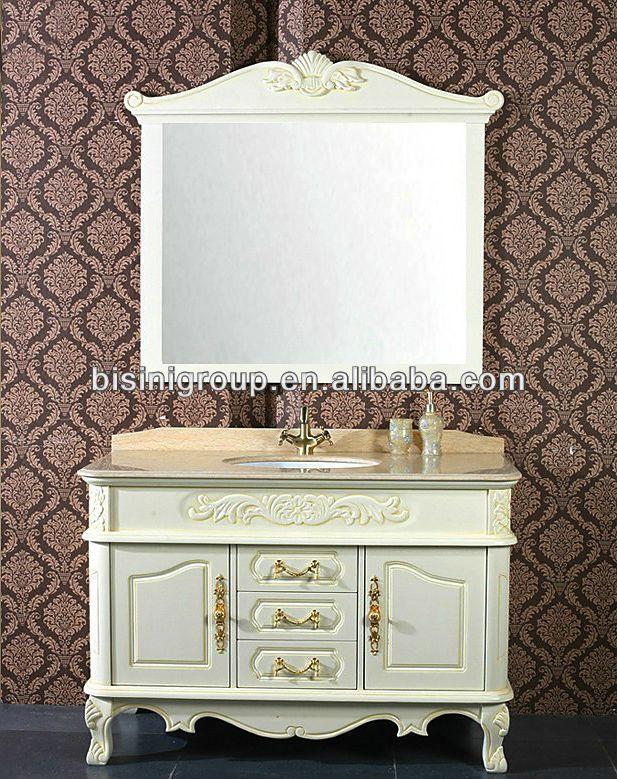 Bisini fransız tarzı aynalı dolaplar, beyaz renk için bâtıla banyo, eski ahşap banyo mobilya dolapları( bf08- 4075)-resim-Banyo Dolabı-ürün Kimliği:1251313226-turkish.alibaba.com