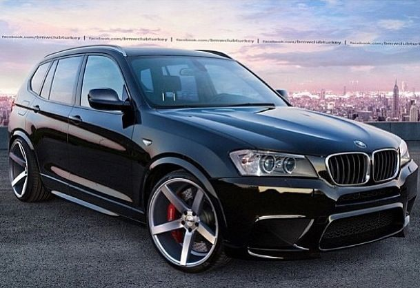 BMW X3 on Vossen wheels