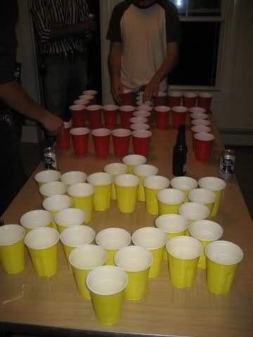 Nazi VS Jews beer pong