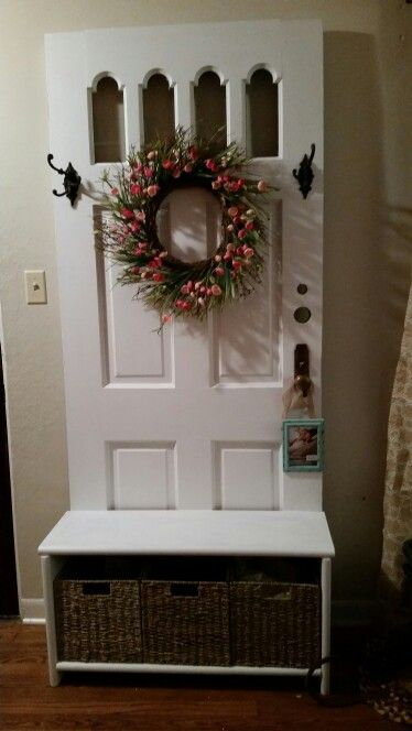 Ideas For Old Doors old door with wreath dress up for any holiday or season love over Best 25 Old Doors Ideas On Pinterest