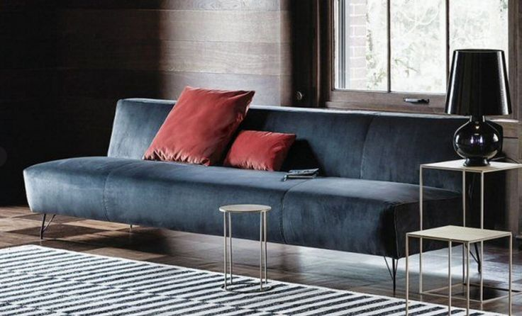 #710 #Pop #sofa by #Vibieffe: the ideal design solution for furnishing tricky living room spaces