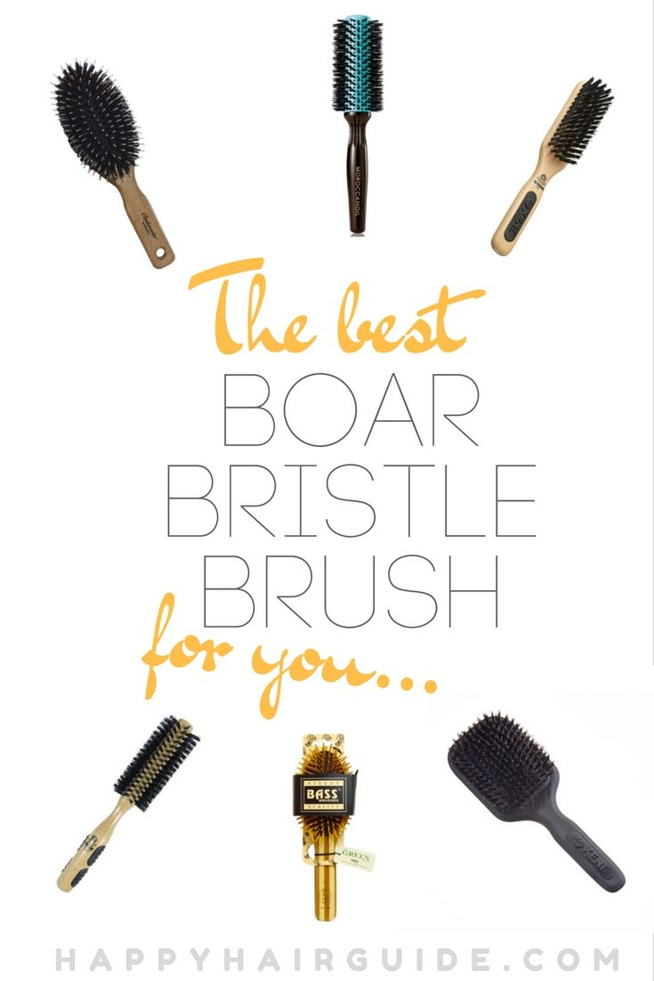 The boar bristle brush world has upped its game in recent years! Here are the best boar bristle brushes out there for a range of hair types.