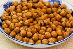 Kalyn's Kitchen®: Crispy Roasted Chickpeas (Garbanzo Beans) with ...