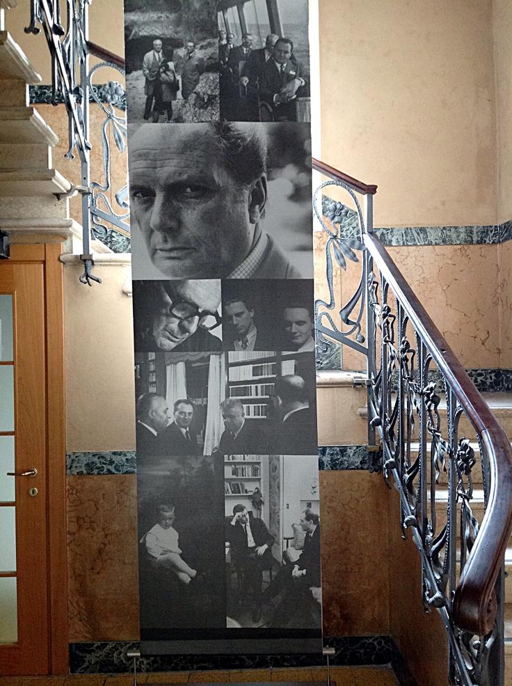 Presso la biblioteca civica di Luino è conservato, dal 1998, l'archivio Sereni
