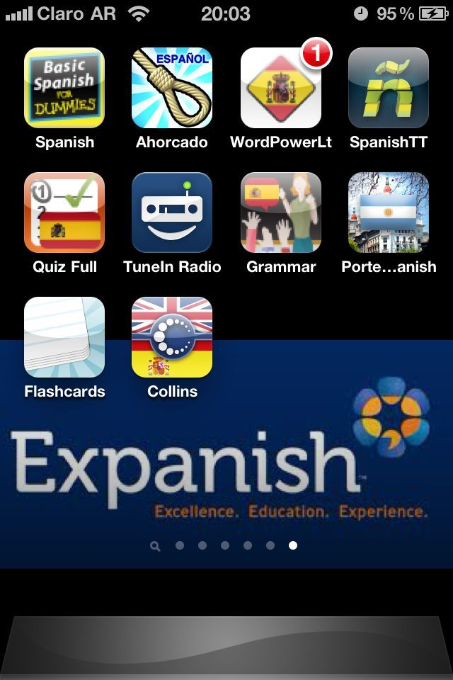 Top 10 iPhone Apps for learning Spanish follow my