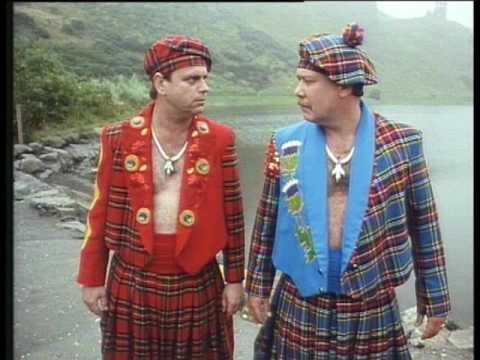 Hale and Pace - Scottish Rap
