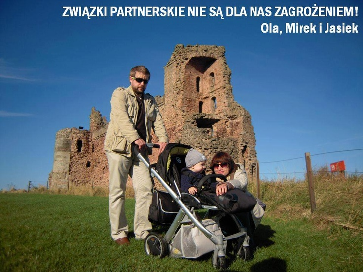 #Poland Civil partnerships are not a threat to us! Ola, Mirek & Jasiek