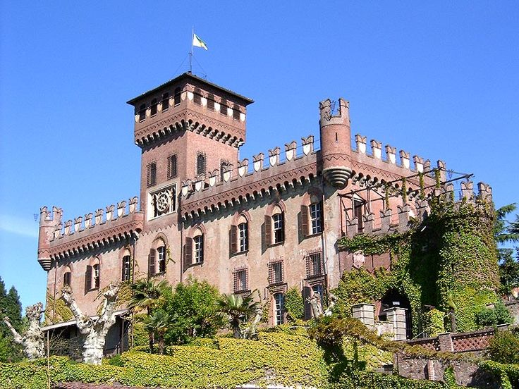 Castello di Mazze, Turin Italy constructed in the 12th century.
