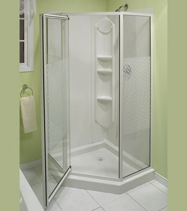 large corner shower units. Maax Shower Solution 77 In H X 38 W L White Neo Astounding Corner Units One Piece Gallery  Best idea home