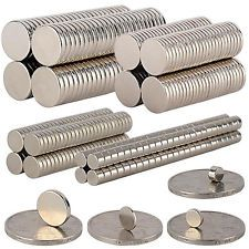 5-100Pcs Super Strong Round Disc 10x1mm 10x2mm Magnets Rare-Earth Neodymium N35