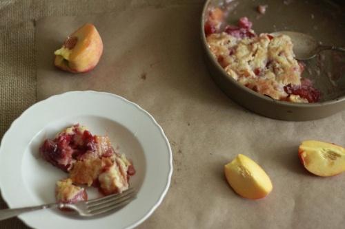 Fruit cobbler, Cobbler and Fruit on Pinterest