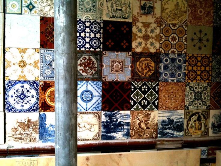 dutch antique tiles