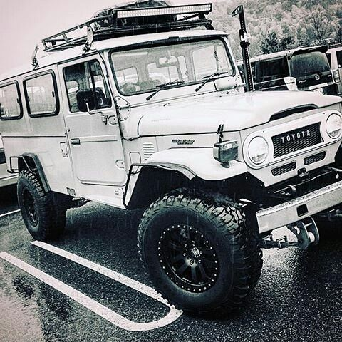 The 40 series Toyota Land Cruiser