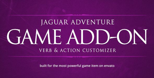 Verb & Action Customizer - Jaguar Game Engine Addon