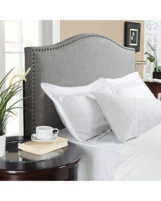 Better Homes and Gardens Grayson Linen Headboard with Nailheads, Multiple Colors, Multiple Sizes from Walmart | BHG.com Shop