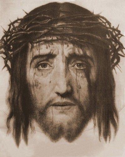 campo de luz e de amor: Rezar o terço da face de Jesus amor