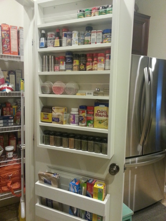 Pantry, Pantry doors and Storage solutions on Pinterest