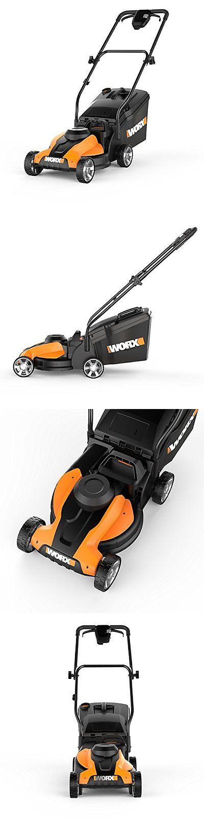 Walk-Behind Mowers 71272: Worx 14-Inch Walk-Behind Lawn Mowers 24-Volt Cordless Lawn Mower With Easy-Start -> BUY IT NOW ONLY: $259.76 on eBay!