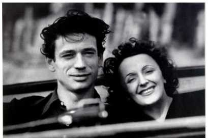 Edith Piaf et Yves Montand