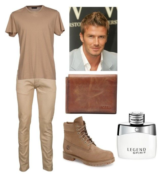 """""""Untitled 5"""" by taoptimist on Polyvore featuring Calvin Klein, Timberland, David Beckham, FOSSIL, Montblanc, mens, men, men's wear, mens wear and male"""