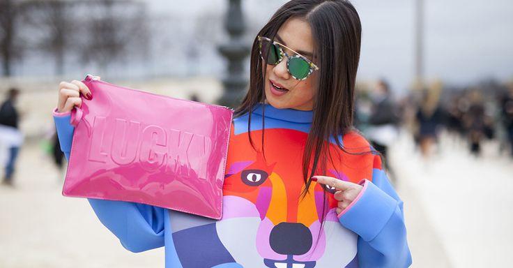 #bag #fashion #spring #clutch #streetstyle
