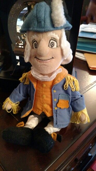 Washington stuffed doll