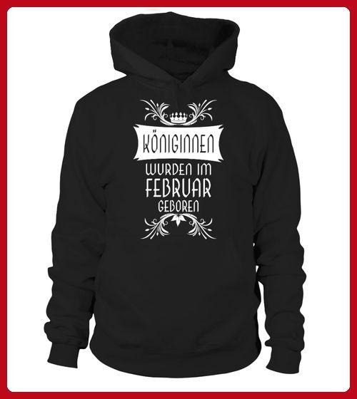 KNIGINNEN WURDEN IM FEBRUAR GEBOREN - Geburtstag shirts (*Partner-Link)