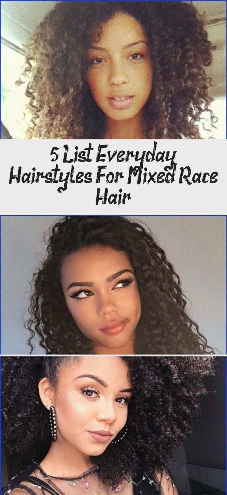 5 List Everyday Hairstyles For Mixed Race Hair   Hair ...