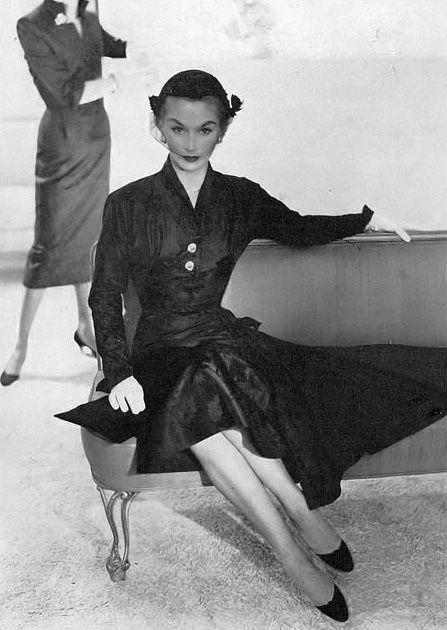 Lisa Fonssagrives, photo by Horst, Vogue, August 15, 1951 | flickr skorver1