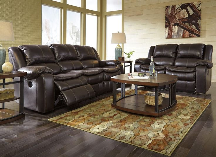 Long Knight Contemporary Brown Faux leather Reclining Power Sofa And Loveseat. Looking to raise the comfort level of two Long Knight power reclining loveseat sweeps you off your feet with extra-plush cushioning, including on the footrests, and infinite reclining positions at the touch of a button. #Sofa #Loveseat #Reclining #Leather #Brown #Dark Brown #Smooth #Living Room – Furnituremaxx