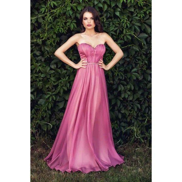 Rochie eleganta lunga roz prafuit  Pentru cele mai spectaculoase aparitii la evenimentele speciale, alege o rochie de seara lunga confectionata din voal de matase, in tonuri de roz prafuit. Deosebit de eleganta, feminina si fluida, rochia de seara lunga iti confera un aer diafan, de poveste;
