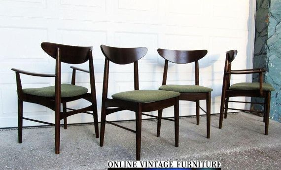 RESTORED 1950s Chairs by Stanley Furniture by OnVintageFurniture, $2000.00