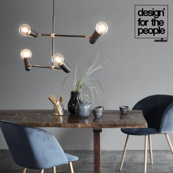 Designer Pendelleuchte Manhattan E27 Schwarz By Bonnelycke Mdd Design For The People 46253003 Pendelleuchte Manhattan Lampe