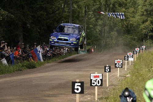 WRC Rally Finland 2011 - Subaru Impreza WRX STi