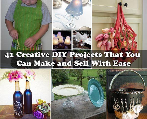 41 Kreative DIY-Projekte, die Sie mit Leichtigkeit erstellen und verkaufen können   – So crafty