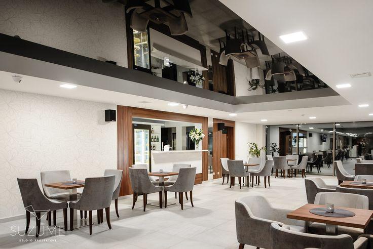 Modern lounge bar, Ciechocinek