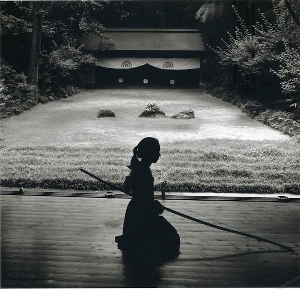 Japanese Archery - Kyudo.  Photography by Linda Butler