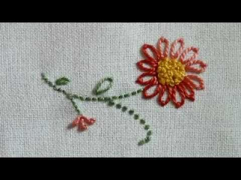 French Knot Tutorial, from NeedleKnowledge.com - YouTube