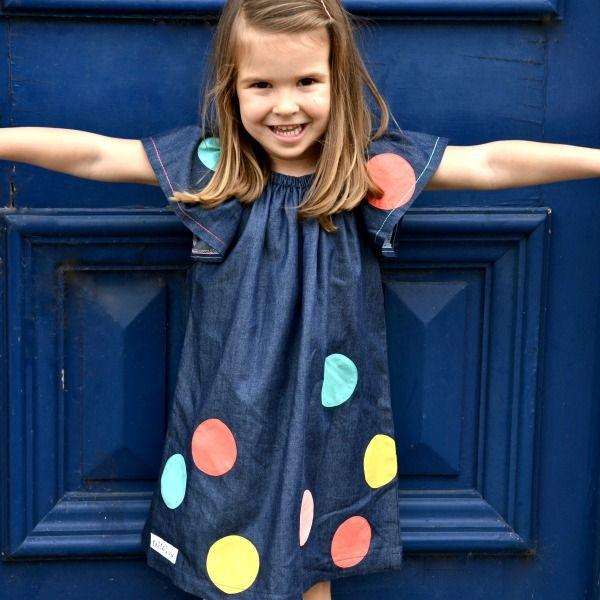 confetti spot dress
